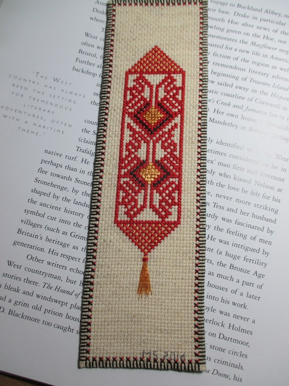 Bookmark Bell Pull
