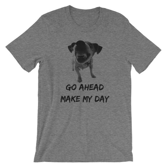 52f01f15c79ab funny vicious little dog t-shirt/ go ahead make my day/ humorous t-shirt/  funny dog owner t-shirt