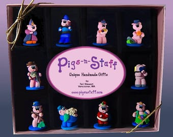 Miniature Pigtails....Set #1, 2, 3, 4 or 5
