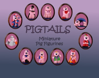 Miniature Pigtails... 50 Designs