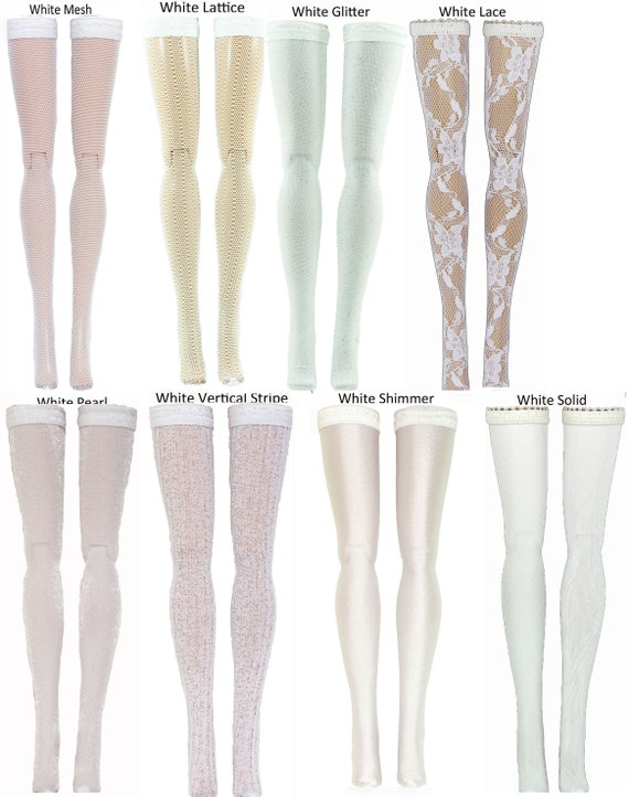 Metallic Doll Stockings for Integrity Toys Fashion Royalty Jem Poppy Parker