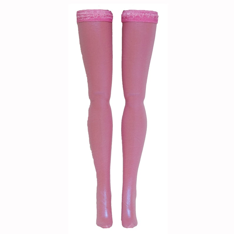 Jem Metallic Doll Stockings for Integrity Toys Fashion Royalty Poppy Parker