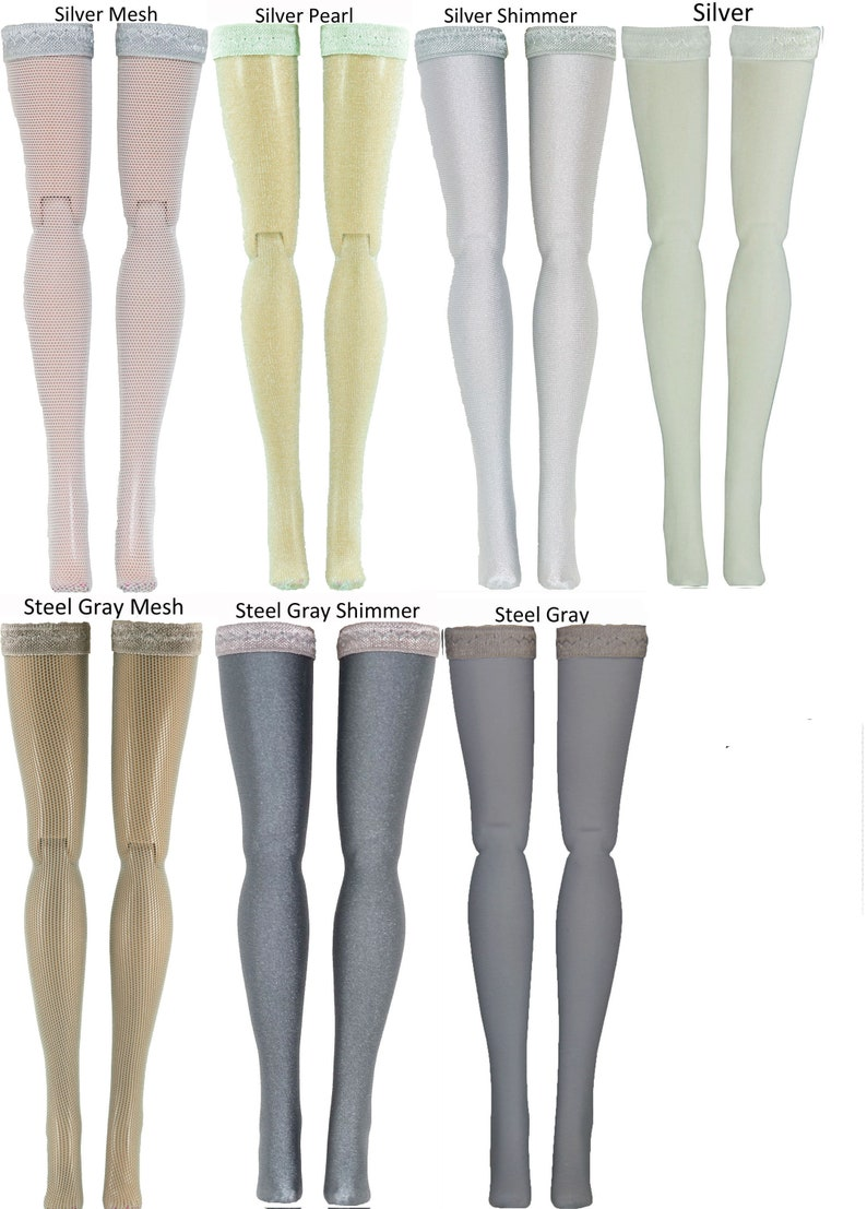 "Tyler Ellowyne Marley Emme Cami Animal Doll Stockings for 16/"" Tonner dolls"