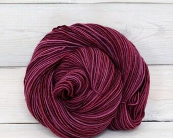 Aspen Sport - Hand Dyed Superwash Merino Wool Sport Yarn - Colorway: Sugar Plum