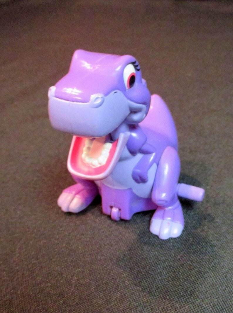 Vintage 1997 Land Before Time Chomper Dinosaur Wind Up Toy Collectable RARE