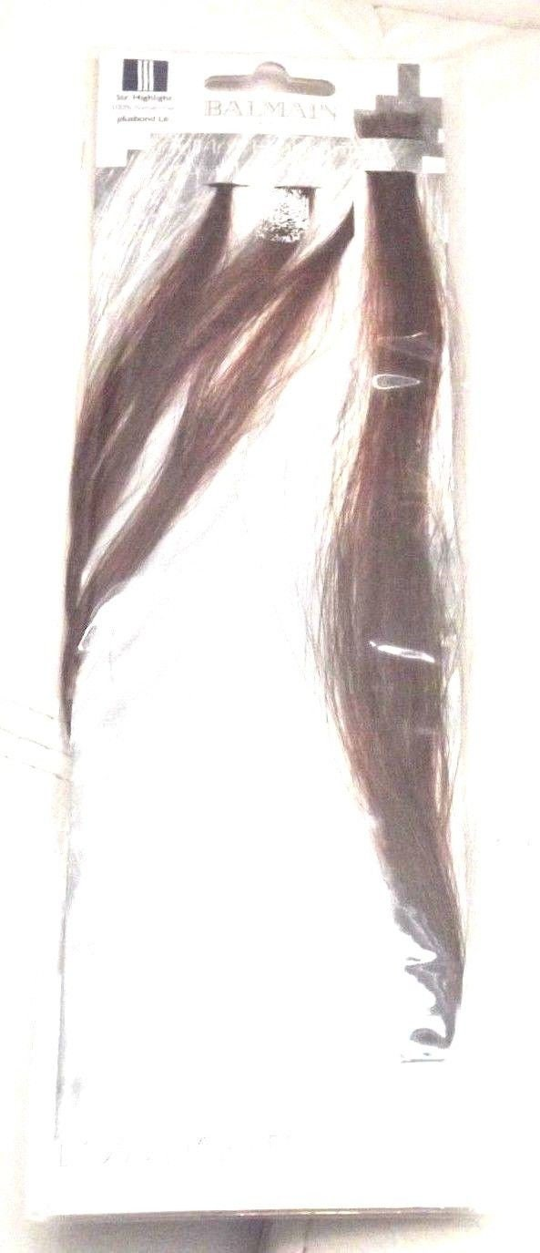Balmain Paris 100 Human Hair Extensions Colour Plusbond L6