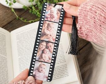 Personalised Photo Film Reel Metal Bookmark