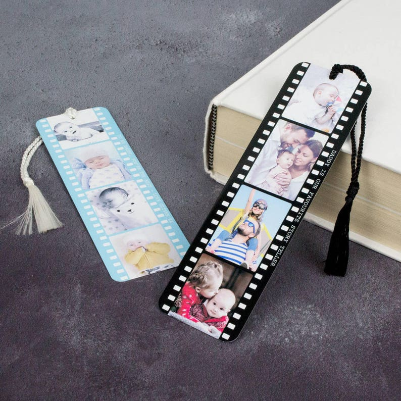 Personalised Photo Bookmark  Metal Book Mark Page  image 0