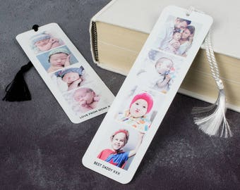 Personalised Photo Booth Bookmark - Metal Book Mark Page - Photograph P44