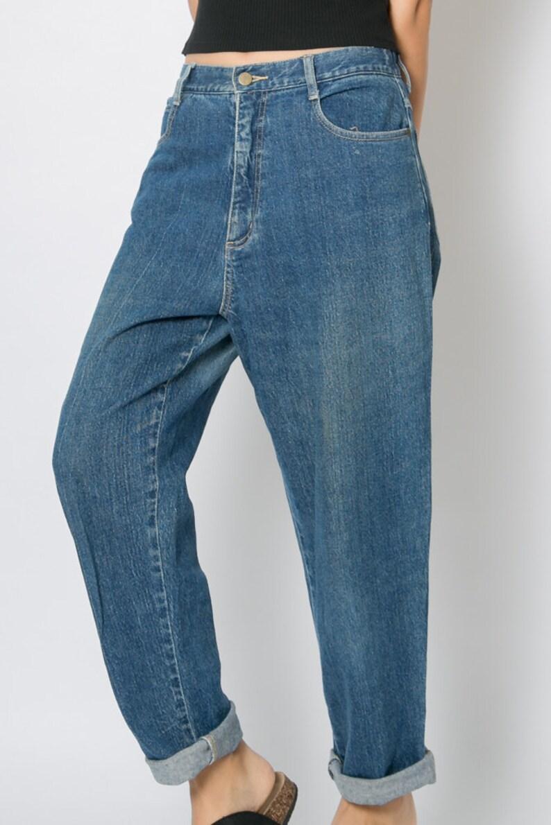fa2e5ecd34 Jeans vintage de 1980 Pantalones vaqueros holgados talle
