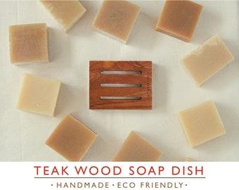 Teak Wood Soap Dish