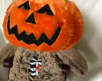Pumpkin Head Plush