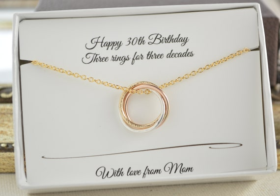 30th Birthday Gift For Daughter 3 Best Friend Sisters