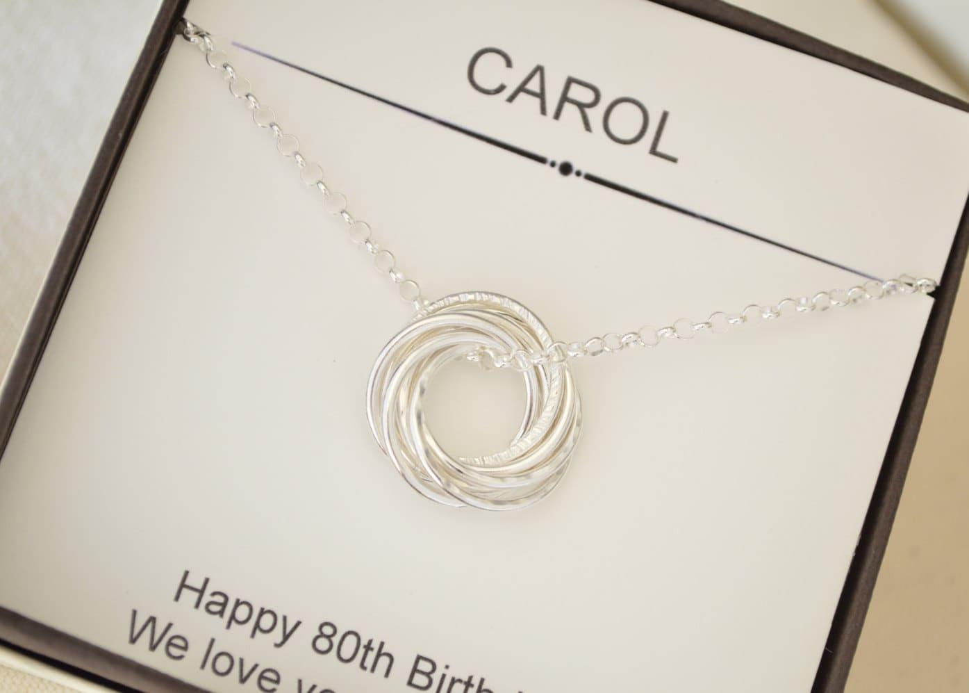 80th Birthday Gift For Mom Gradma 8th