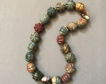 Vintage Stone Necklace