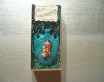 Sandy Whitefeather Collectable Christmas Ornament Vintage