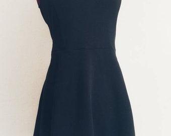 Little Black dress mini sexy size US 10 UK 40