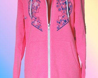 Magical Girl First Aid Hoodies in Pink and White