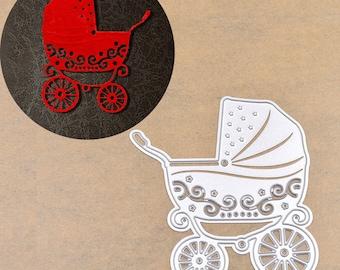 MATRIX of cutting, stroller baby 8.5 x 7.5 cm