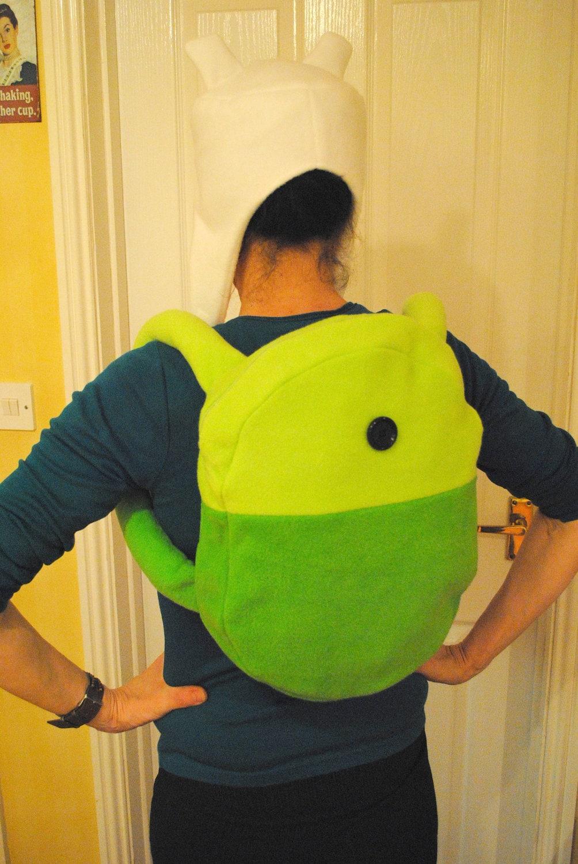 adventure time finn backpack | etsy