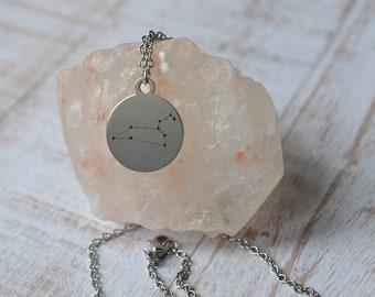 Biolojewerly - Leo Constellation Stainless Steel Necklace