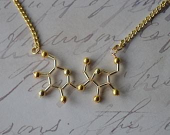 Biolojewelry - Sugar Molecule Necklace