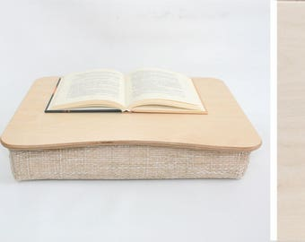 Wooden Laptop Desk / Bed Tray / Serving Tray / Pillow Tray / iPad Table / Breakfast Tray / Laptop Stand Basic