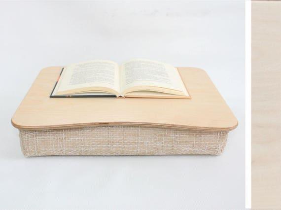Bureau pour ordinateur portable en bois lit plateau etsy