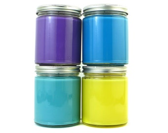 PICK 4 - 8 oz Jar Candles from Bubble & Geek - Save on shipping - Video Game, Geeky Candles