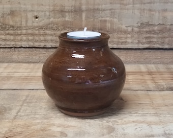 Cremation Urn - Stoneware Cremains Jar - READY to SHIP - IGNEOUS - Up to 16lb