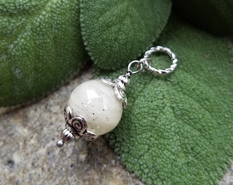 PENDANT Necklace made from your preserved Wedding or Memorial Flowers or Pet Cremains or Fur Custom Bridal or Funeral Keepsake  DECO DAISY