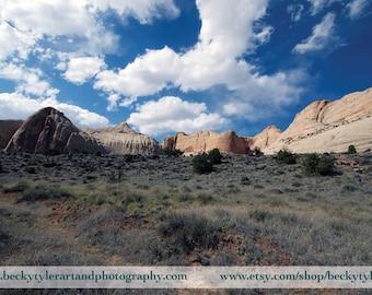 Capital Reef National Park, Utah,  Fine Art Photo Print