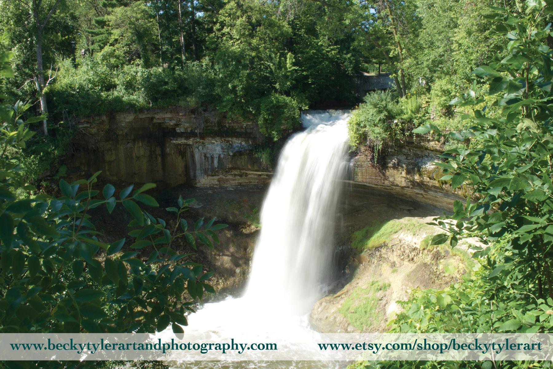 Minneapolis Minnehaha Falls Fine Art Photo Print