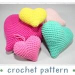 Hangers - Hearts - Crochet Pattern