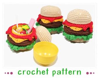Burger Surprise - Crochet Pattern