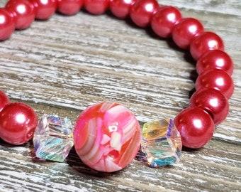 Pearl tip howlite orange jewelry creation orange pearl 10-wire lot of 90-G566 natural howlite creative supplies pearl stone