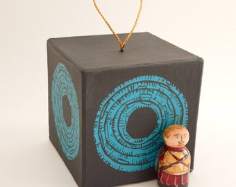 Doctor Who Rory the Roman guarding the Pandorica ornament LAST ONE LEFT