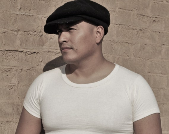 1940s Munsingwear, thick, white undershirt or T-shirt, fitted SZ 38