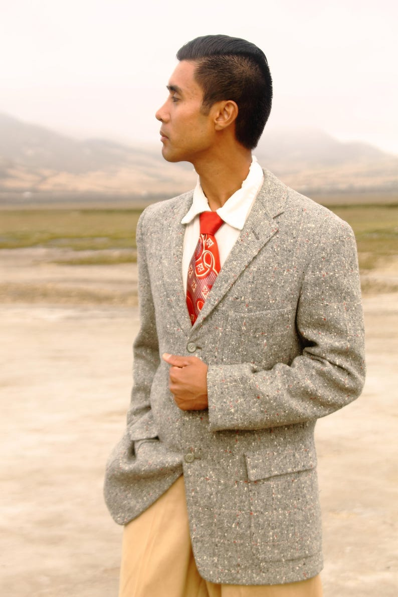 Atomic Sam Cravate Chemise 10 12 14 16 Plus Taille Retro Vintage 1950 S Style Rockabilly