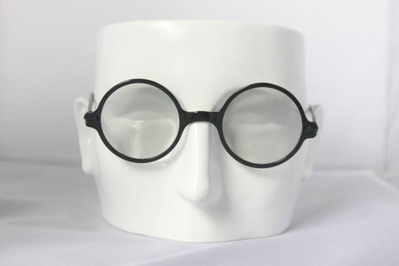 """Deadstock 1920s Willson """"protection goggles"""" or sunglasses, The Smoke Signal"""