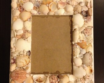 Sea Shell Photo Frame 5x7