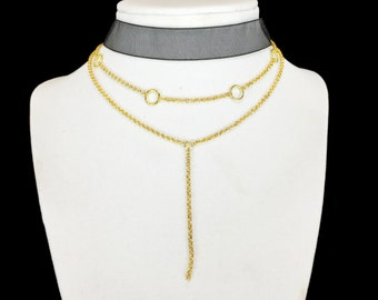 Kristin Perry Pom Pom Velvet Choker Necklace