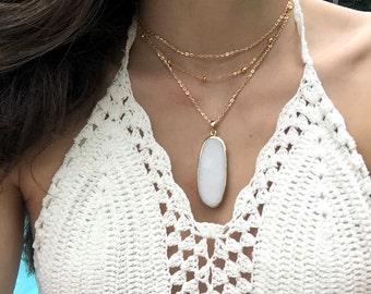 Jeanine Tier Necklace