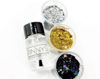 Holographic Chromatic Glitter Dust (single or as kit)