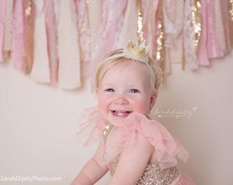 Crown Headband, Gold Crown, Mini Princess Crown, Princess Crown Headband, Newborn Baby Crown, Birthday Crown, Gold Crown, Silver Crown