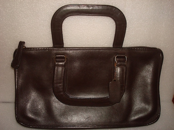 Vintage Authentic 1970s Coach Bonnie Cashin Dark B