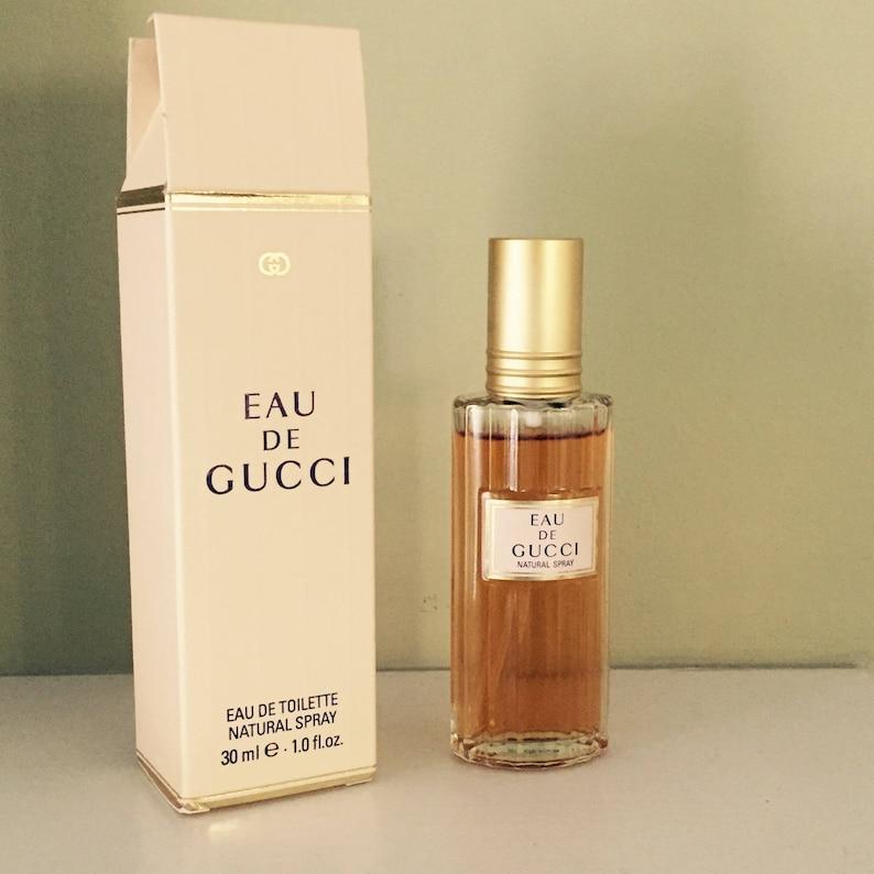1f2aaf6a8a445 Vintage Gucci Perfume Fragrance Eau Di Gucci Eau Di Toilette EDT Women's  Fragrance 1 oz 30 ml Gucci Perfumes