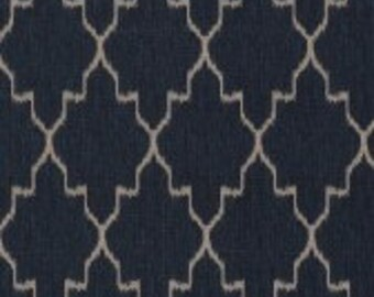 Lacefield Designs Monaco Sapphire Custom Drapery Pinch Pleat Panels Curtains - Set of Two!