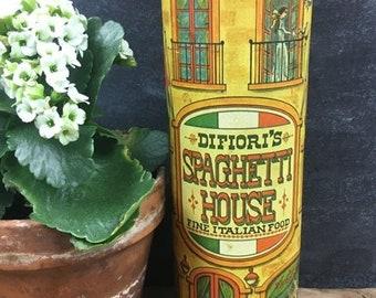 Vintage Scottish Metal J/&B Rare Finest Scotch Whisky Storage Tin Spaghetti Pasta Kitchen circa 1990/'s  English Shop