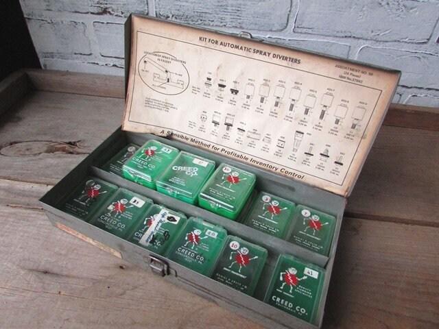 industrial metal box vintage fuse boxes small storage etsy. Black Bedroom Furniture Sets. Home Design Ideas
